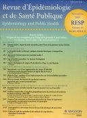 Revue D epidemiologie Et de Sante Publique