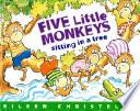 En un   rbol Est  n los Cinco Monitos   Five Little Monkeys Sitting in a Tree
