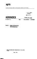 Agrindex Book PDF
