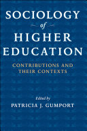 Sociology of Higher Education