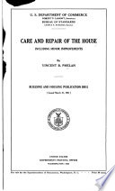 Care and Repair of the House Including Minor Improvements Book