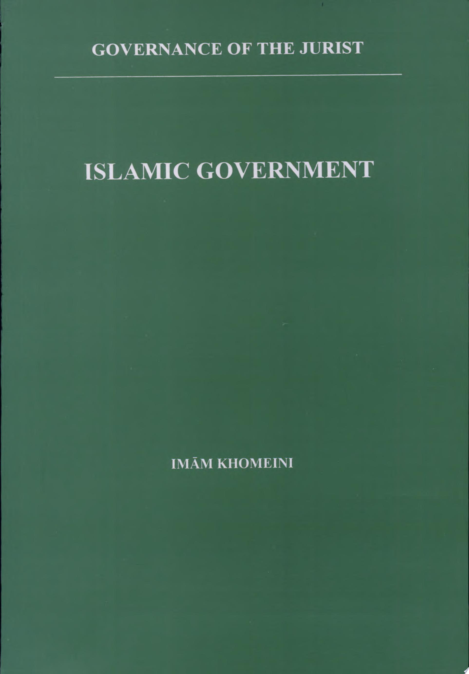 Islamic Government