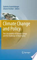 Climate Change And Policy Book PDF