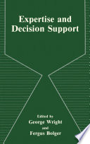 Expertise and Decision Support Book