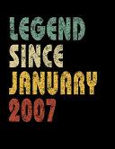 Legend Since January 2007