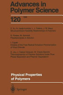 Physical Properties of Polymers Book