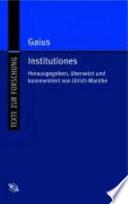 Gaius Institutiones