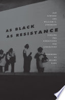 As Black as Resistance Book PDF