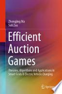 Efficient Auction Games