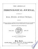 American Phrenological Journal And Repository Of Science Literature And General Intelligence