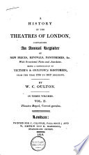 History of the Theatres of London