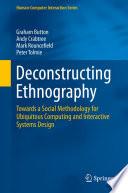 Deconstructing Ethnography