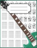 Left Handed Guitar Chord Notebook