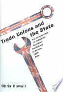 Trade Unions and the State