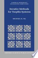 Iterative Methods for Toeplitz Systems