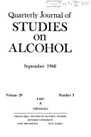 Quarterly Journal of Studies on Alcohol
