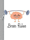 Brain Rules: Funny College Ruled Composition Writing Notebook Fro Boys and Girls ebook