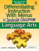 Differentiating Instruction With Menus for the Inclusive Classroom Pdf/ePub eBook