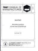 1967 Census of Manufactures