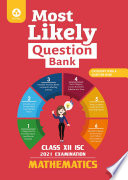 Most Likely Question Bank For Mathematics Isc Class 12 For 2021 Examination