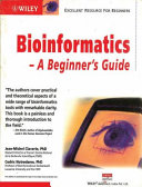Bioinformatics A Beginner'S Guide