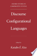 Discourse Configurational Languages