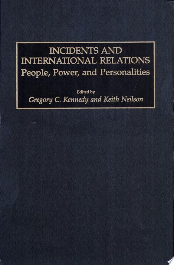 Incidents and International Relations