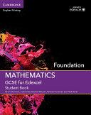 GCSE Mathematics for Edexcel Foundation Student Book