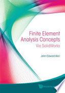 Finite Element Analysis Concepts
