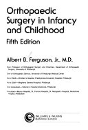 Orthopaedic Surgery in Infancy and Childhood