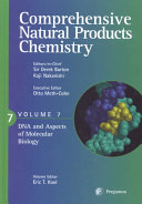 Comprehensive Natural Products Chemistry  DNA and aspects of molecular biology