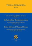 Im Spiegel der Theatergeschichte  In the Mirror of Theatre History