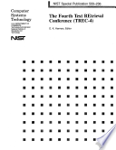 4th Text Retrieval Conference