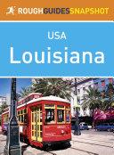 Pdf Rough Guides Snapshot USA: Louisiana Telecharger