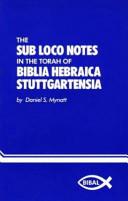 The Sub Loco Notes in the Torah of the Biblia Hebraica Stuttgartensia