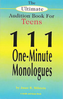 The Ultimate Audition Book for Teens
