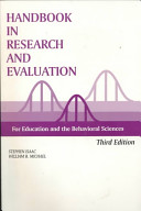Handbook in Research and Evaluation