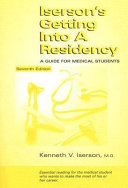 Iserson s Getting Into a Residency Book