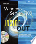 """Windows Server 2008 Inside Out"" by William Stanek"