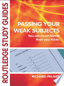 Passing Your Weak Subjects