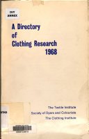 A Directory of Clothing Research