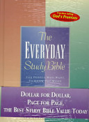 The Everyday Study Bible  God s Promises for Every Day
