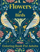 Flowers and Birds Coloring Book