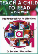 Teach a Child to Read in One Week