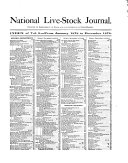Pdf National Live Stock Journal