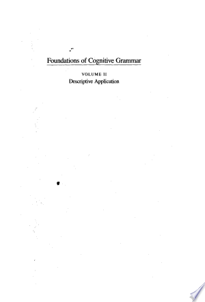 Download Foundations of Cognitive Grammar Free Books - Dlebooks.net