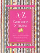 A Z of Embroidery Stitches