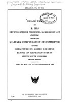 Defense Officer Personnel Management Act