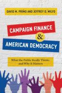 Campaign Finance and American Democracy Pdf/ePub eBook