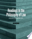 Readings in the Philosophy of Law   Third Edition Book